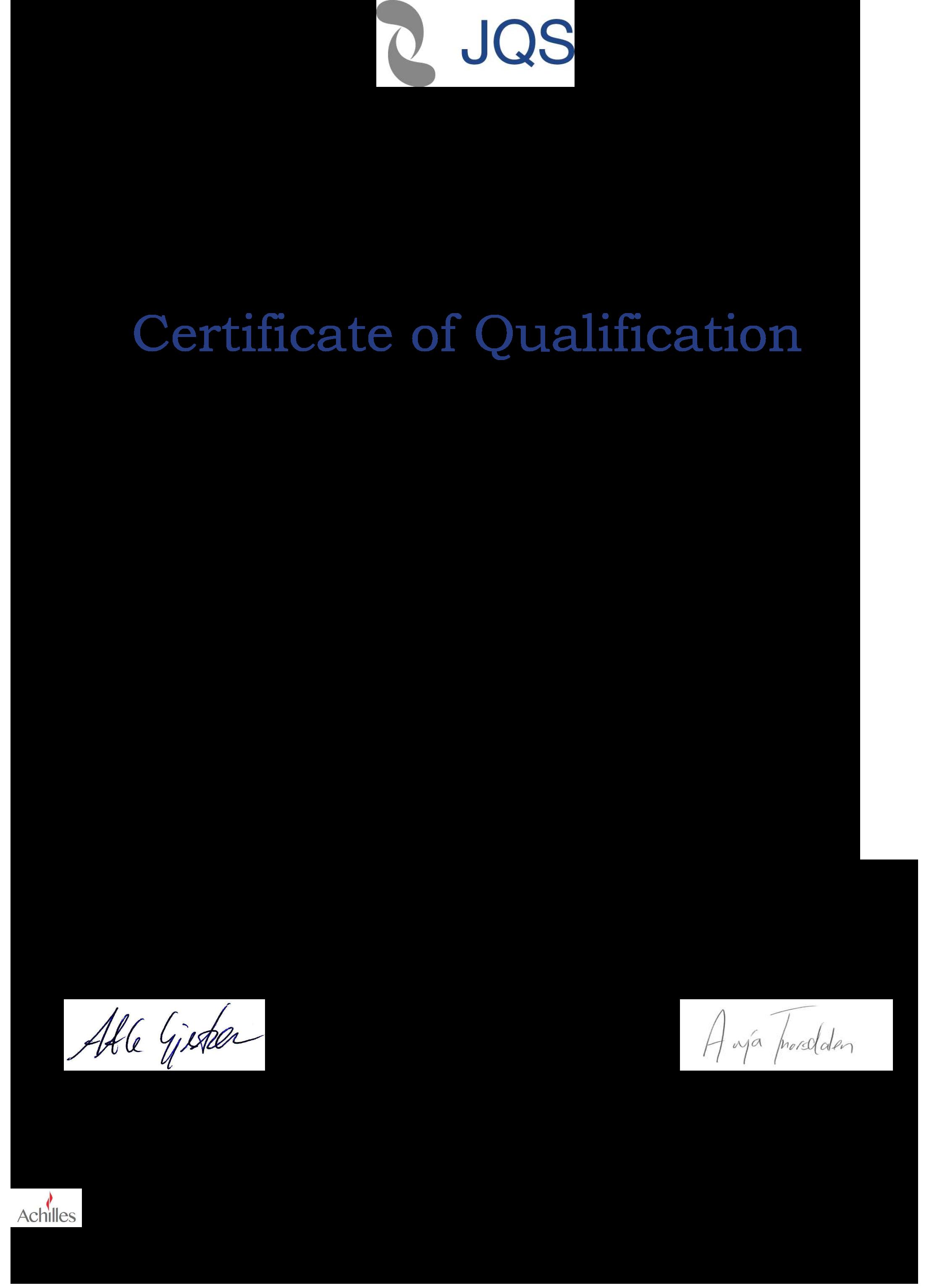 xertificate